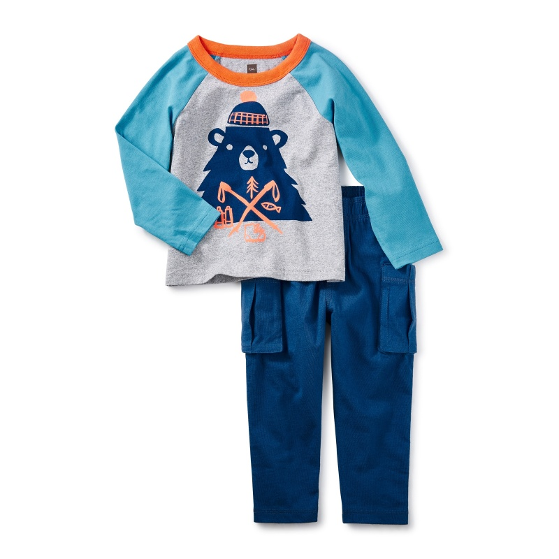 Munro Bear Baby Outfit