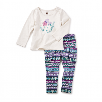 Thistle Baby Outfit
