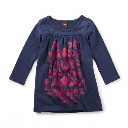 Cloudberry Graphic Dress