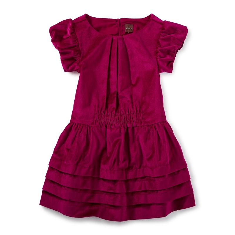 Dunrobin Velvet Dress