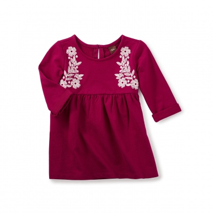 Ailsa Embroidered Dress