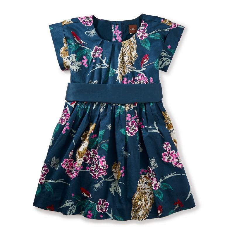 Caledonian Forest Sash Dress