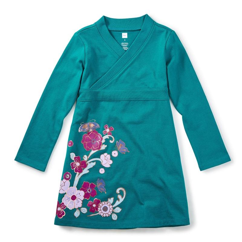 Ingram Street Wrap Neck Dress
