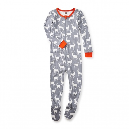 Red Deer Baby Pajamas