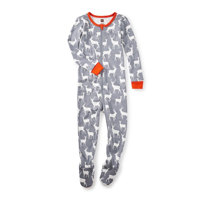 Red Deer Baby Pajamas