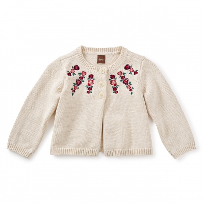 Eleanor Embroidered Cardigan