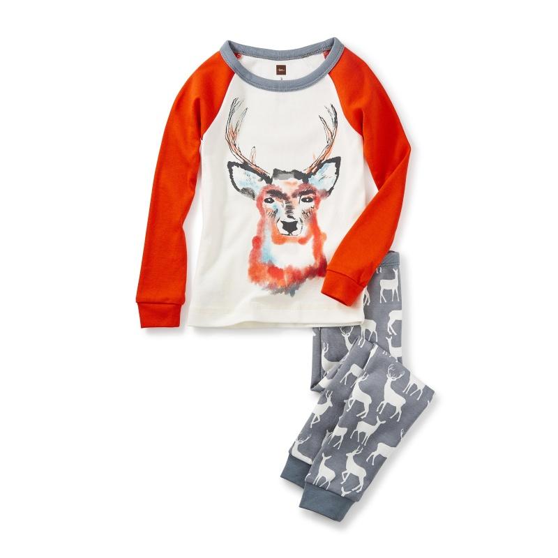 Red Deer Pajamas