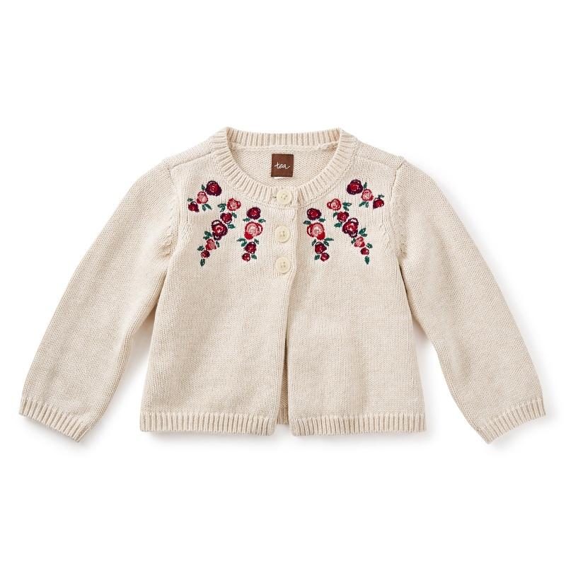 Eleanor Embroidered Cardigan