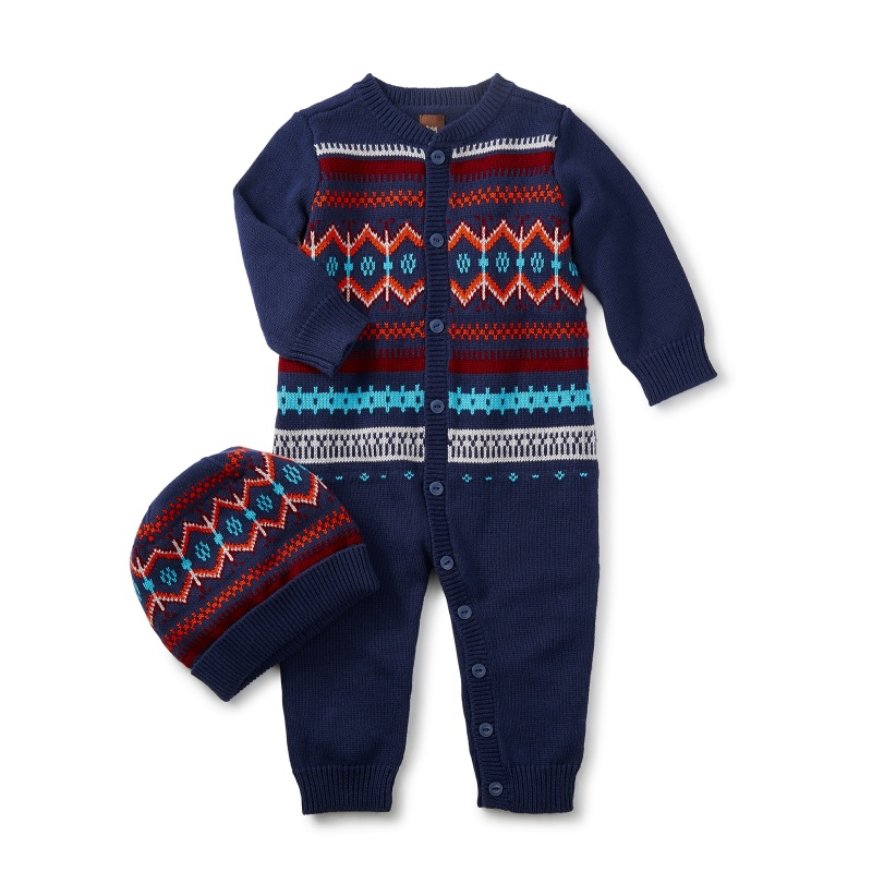 Niall Sweater Romper & Hat