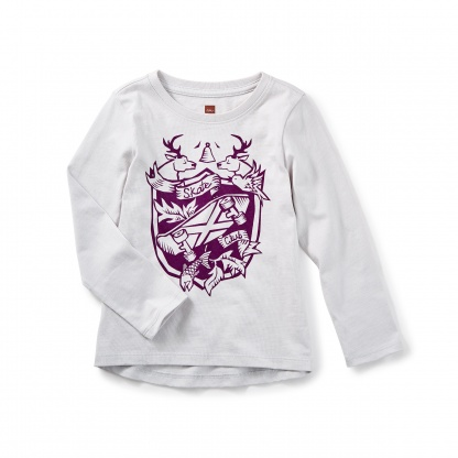 Skate Crest Graphic Tee