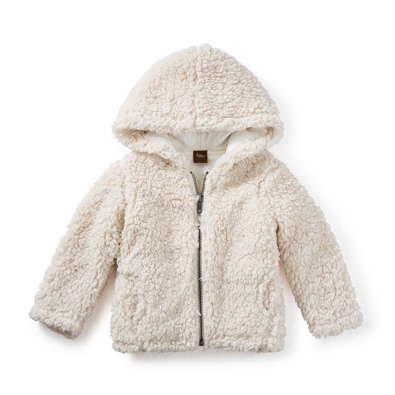 Sherpa Baby Zip Hoodie