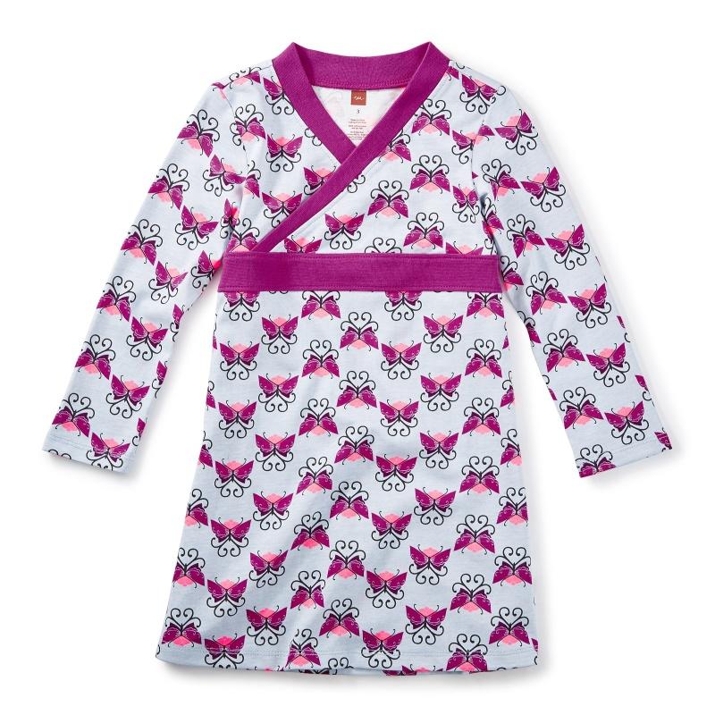 Beitiris Wrap Neck Dress