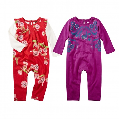 Rowan & Rosewell Rompers Set