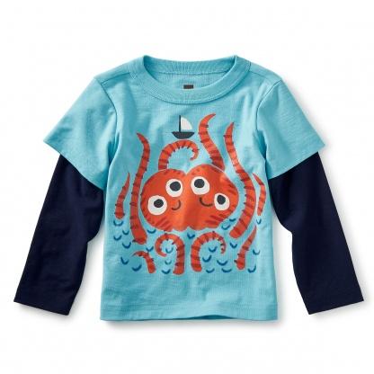 Sea Monster Graphic Tee