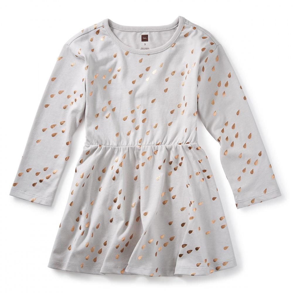 Raindrops Skater Dress