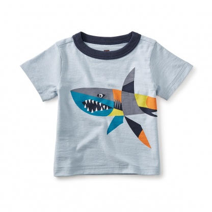 Chomper Graphic Baby Tee