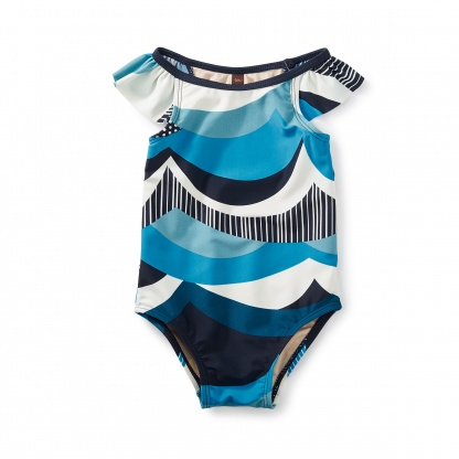 Make Waves Baby One-Piece