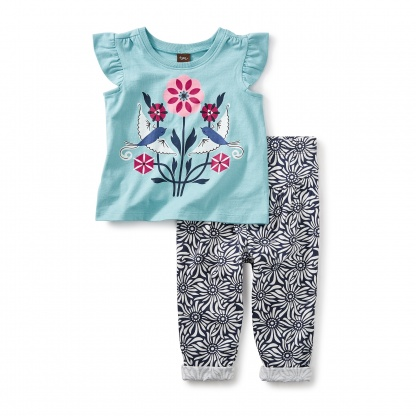 LoveBirds Baby Outfit