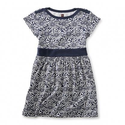 Daisy Field Cap Sleeve Dress