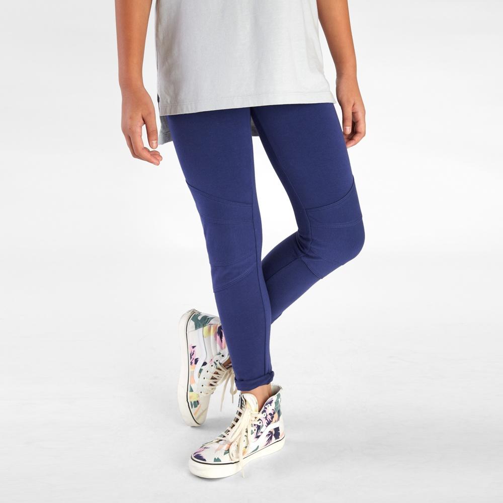 Pintuck Knee Skinny Pants