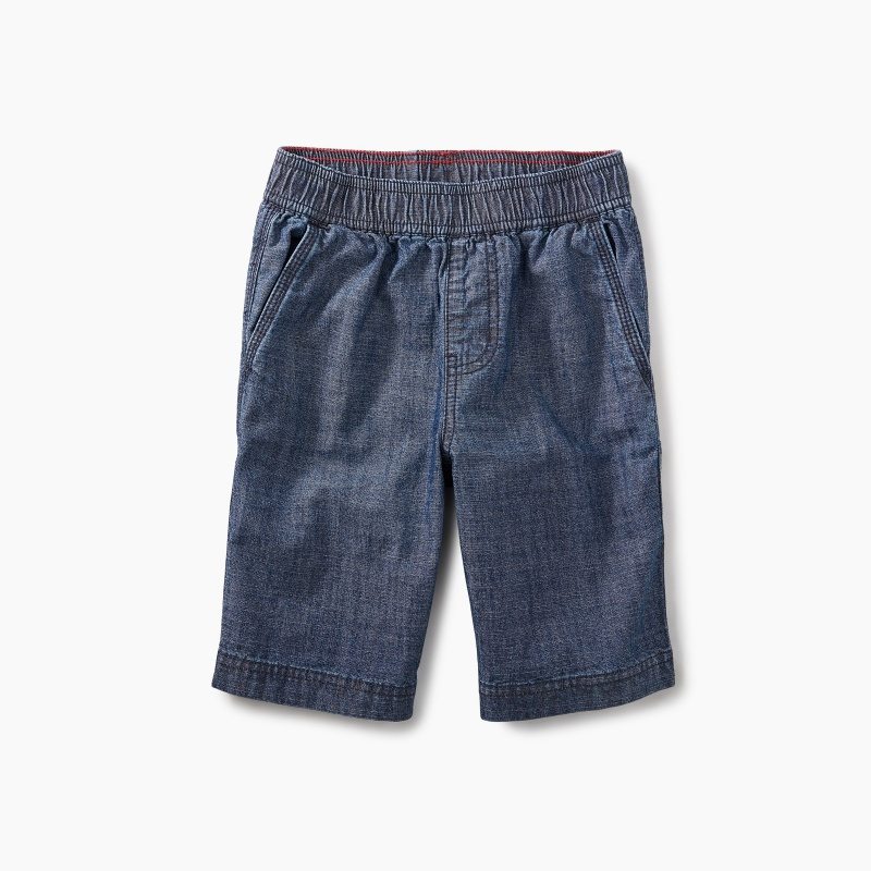 Easy Does It Chambray Shorts