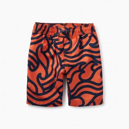Print Swim Trunks