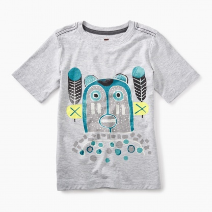 Lomayesva Bear Graphic Tee
