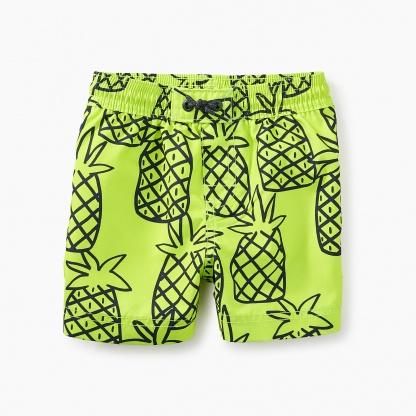 Print Baby Swim Trunks