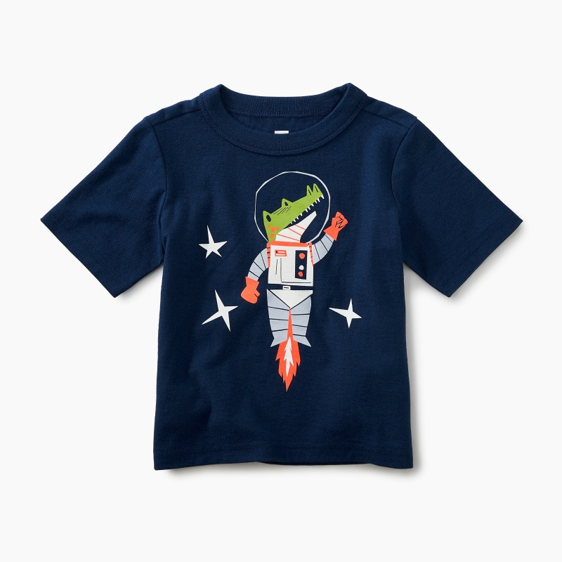 Space Croc Graphic Tee