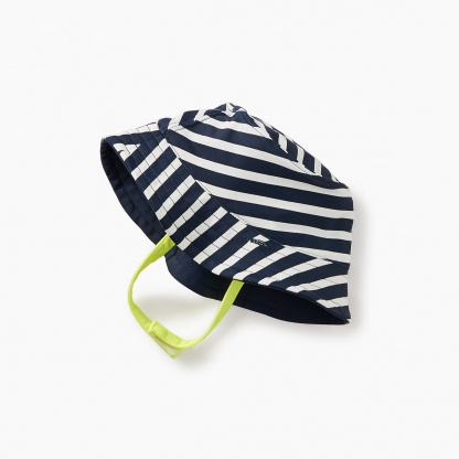 Striped Reversible Sun Hat