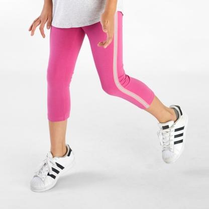 Mesh Side Stripe Leggings