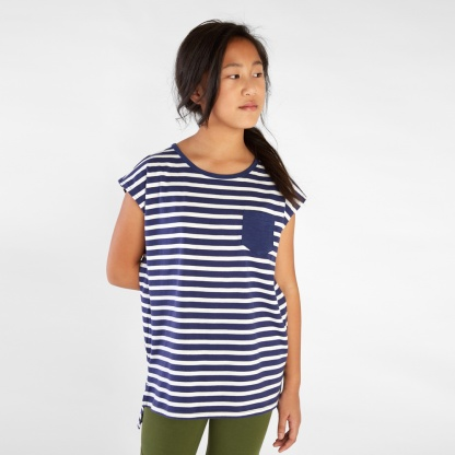 Classic Striped Pocket Tunic