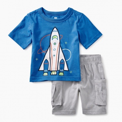 Spaceship Baby Outfit