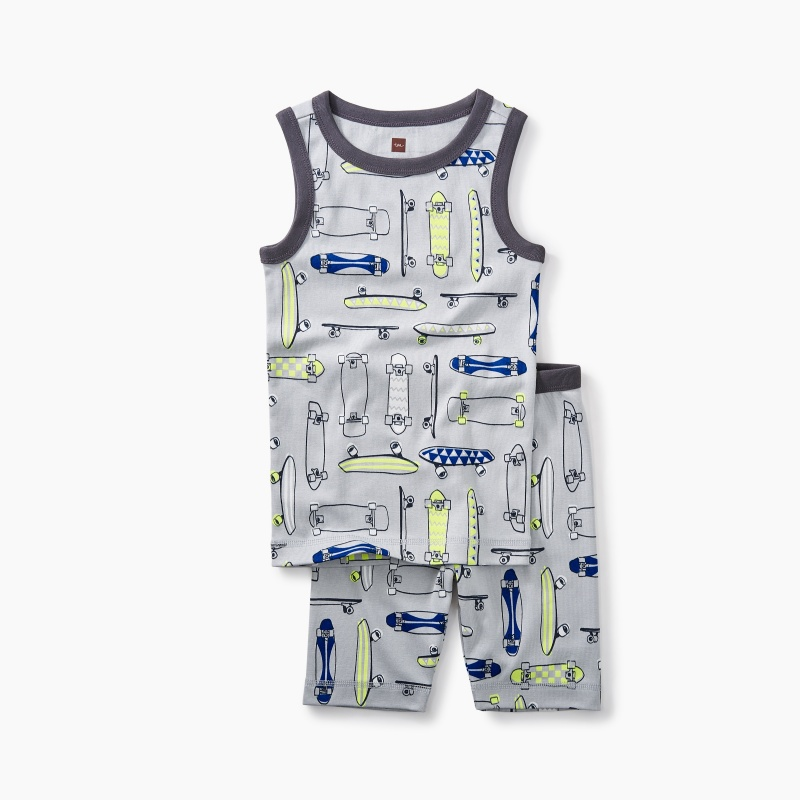 Skateboards Tank Pajamas