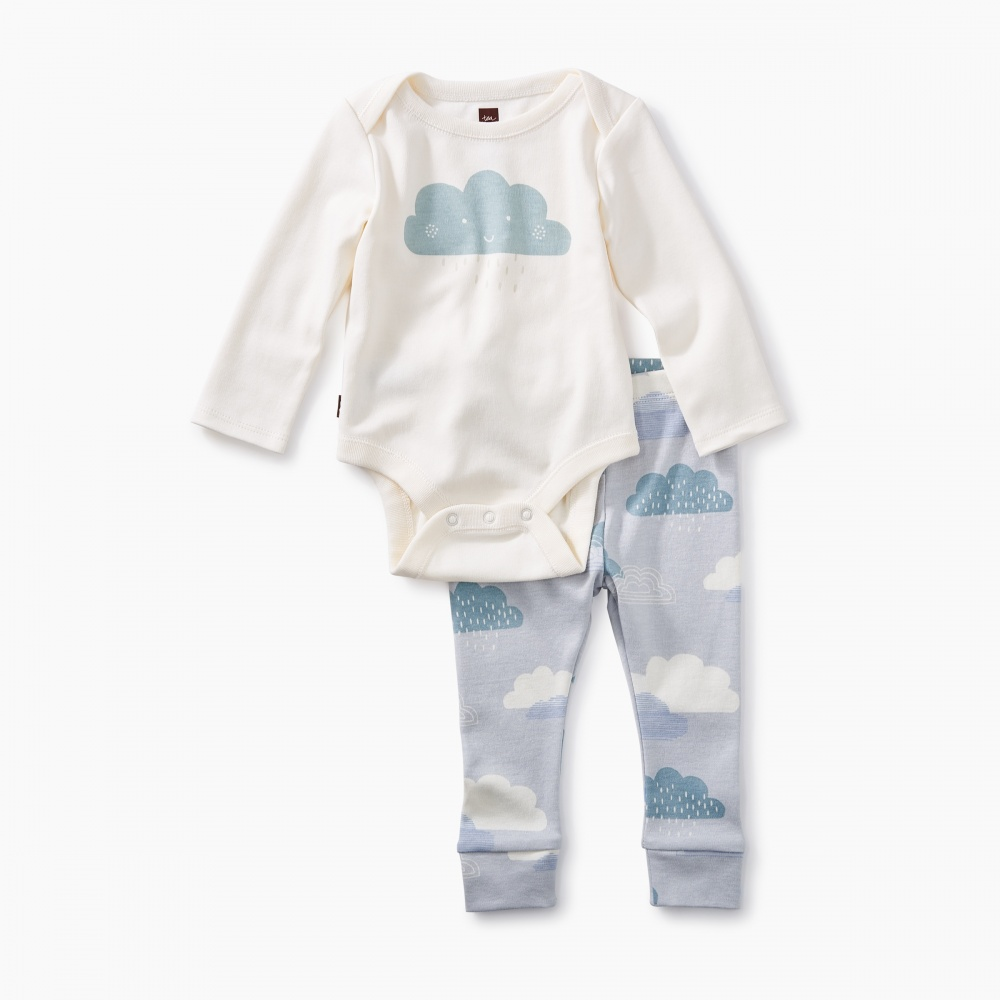 2-Piece Bodysuit Baby Outfit