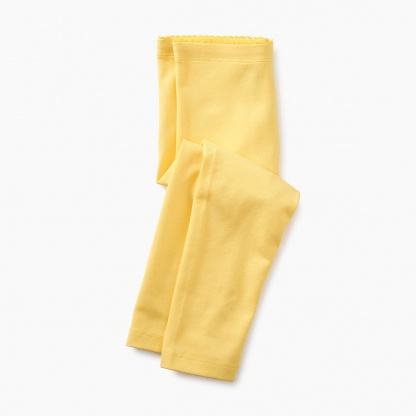 Solid Capri Leggings
