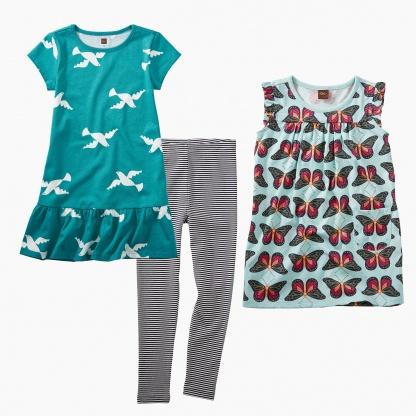 Butterflies & Birds Dress Set
