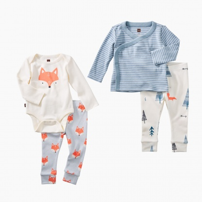 Fox & Forest Baby Set