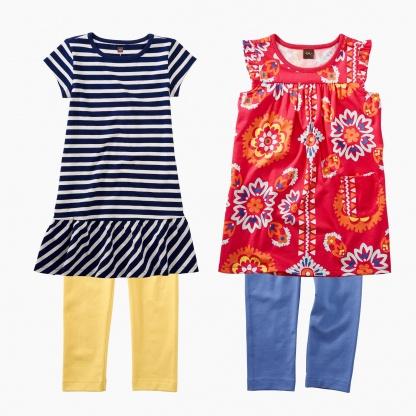 Stripes & Bandanas Dress Set