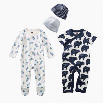 Bear & Feather Baby Set