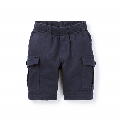 French Terry Cargo Shorts | Tea Collection