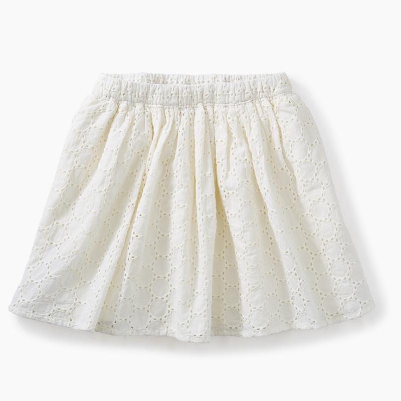 Eyelet Twirl Skirt