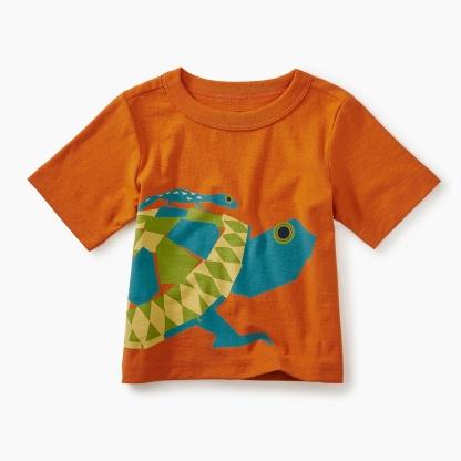 Tortoise Graphic Baby Tee