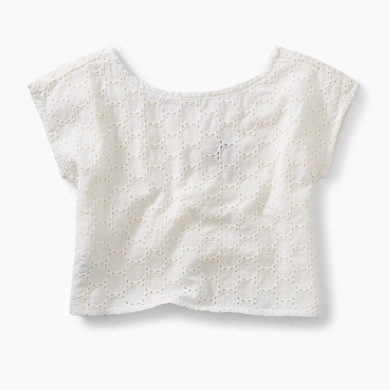 Eyelet Easy Fit Top