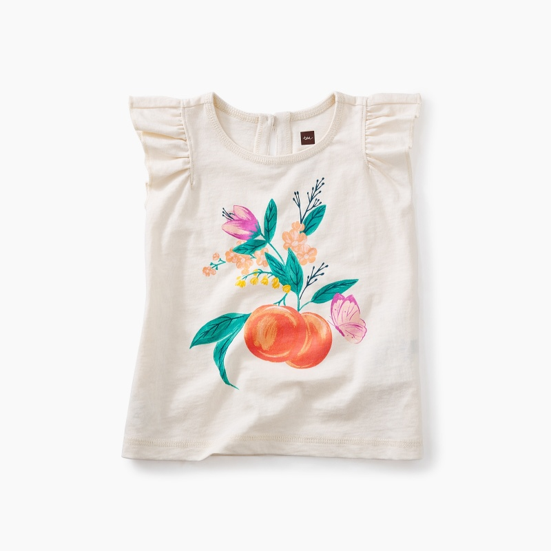Peach Baby Graphic Tee