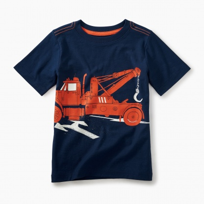 Tow Truck Graphic Tee