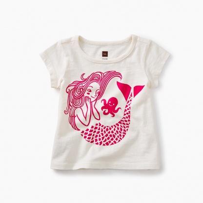 Mermaid Graphic Baby Tee