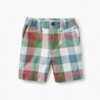 Twill Travel Baby Shorts