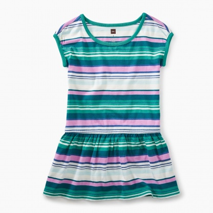 Vibrant Stripe Dress