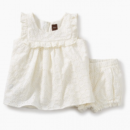 Eyelet Baby Outfit
